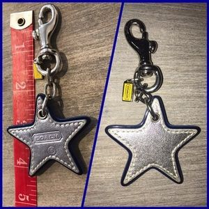 Authentic Coach ⭐️ bag tag/keychain